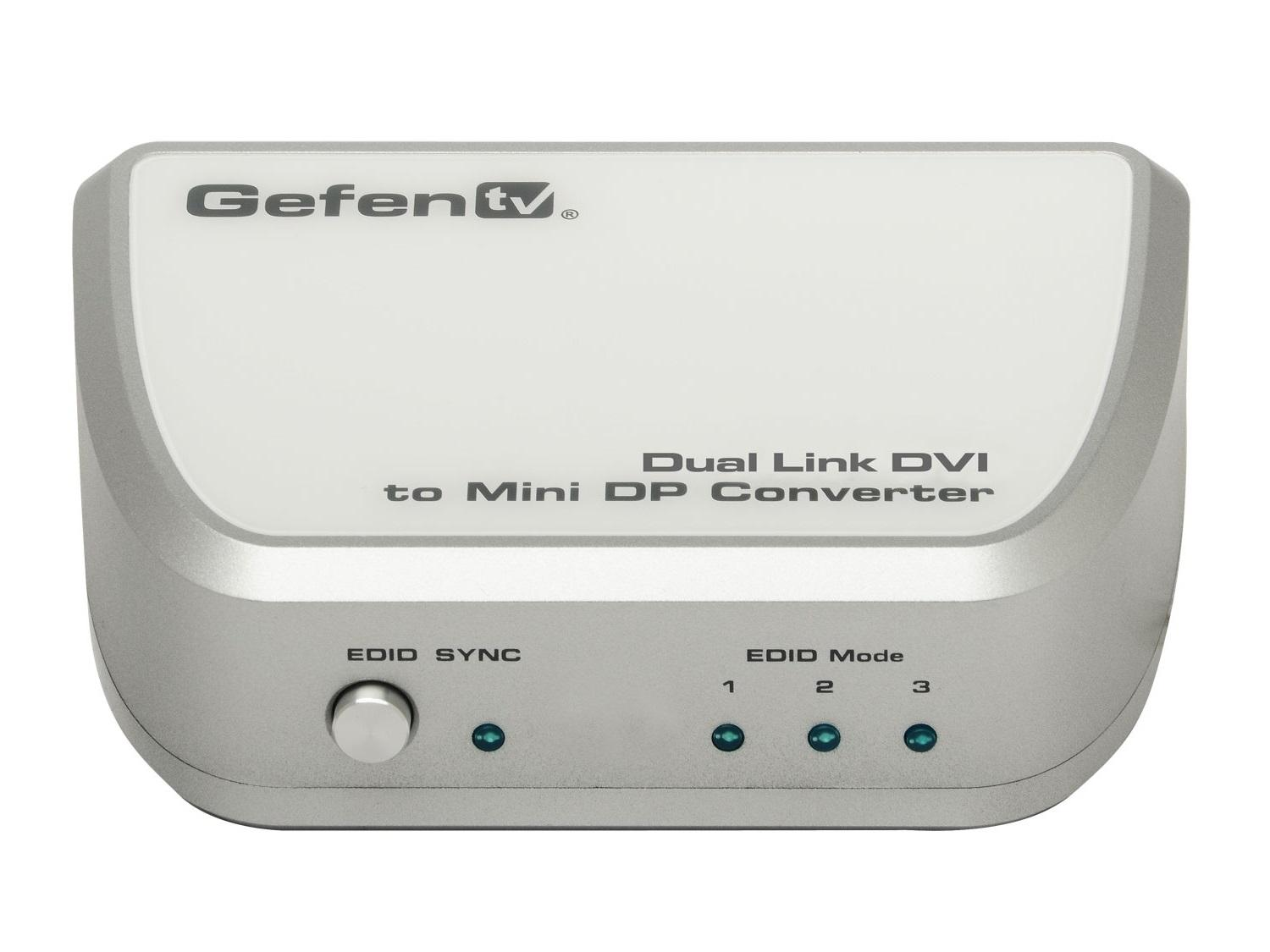 GTV-DVIDL-2-MDP Dual Link DVI to Mini Displayport Converter by Gefen