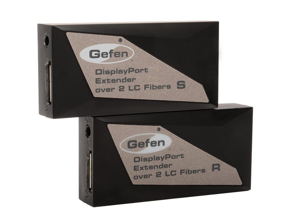 EXT-DP-CP-2FO DisplayPort Extender (Receiver/Sender) Kit over Fiber Optic by Gefen