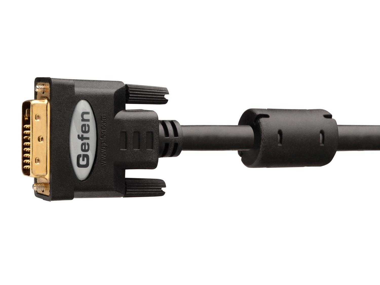CAB-DVIC-DLN-06MM Dual Link DVI Copper Cable (M-M)/Black - 6 ft by Gefen