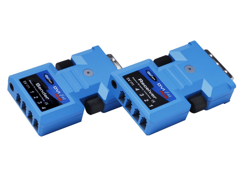 EXT-DVI-FMP DVI FM Extender (Receiver/Sender) Kit PLUS by Gefen
