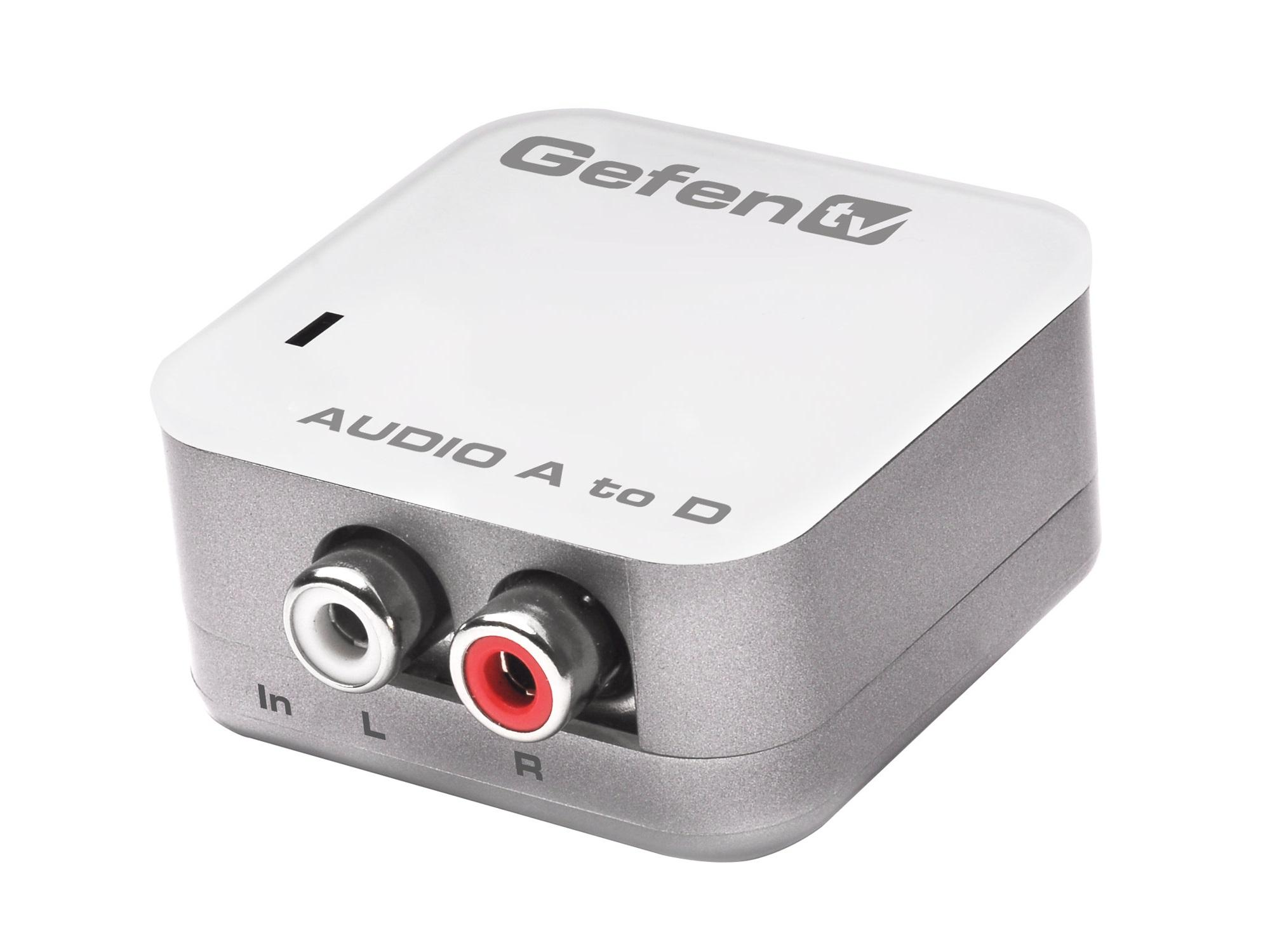 GTV-AAUD-2-DIGAUD Analog Audio to Digital Audio Converter/Pre-Order by Gefen