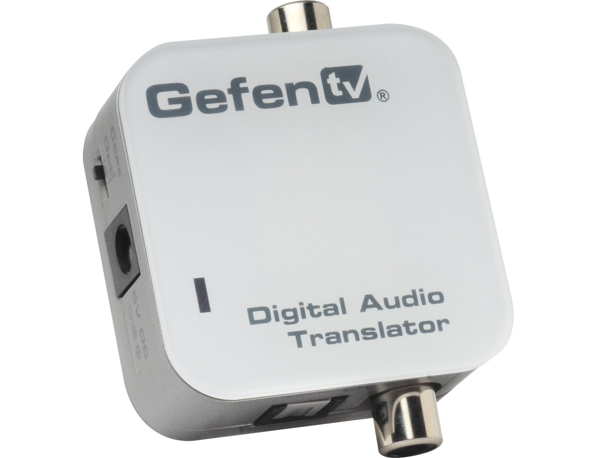 GTV-DIGAUDT-141 TV Coaxial / Optical Digital Audio Converter by Gefen