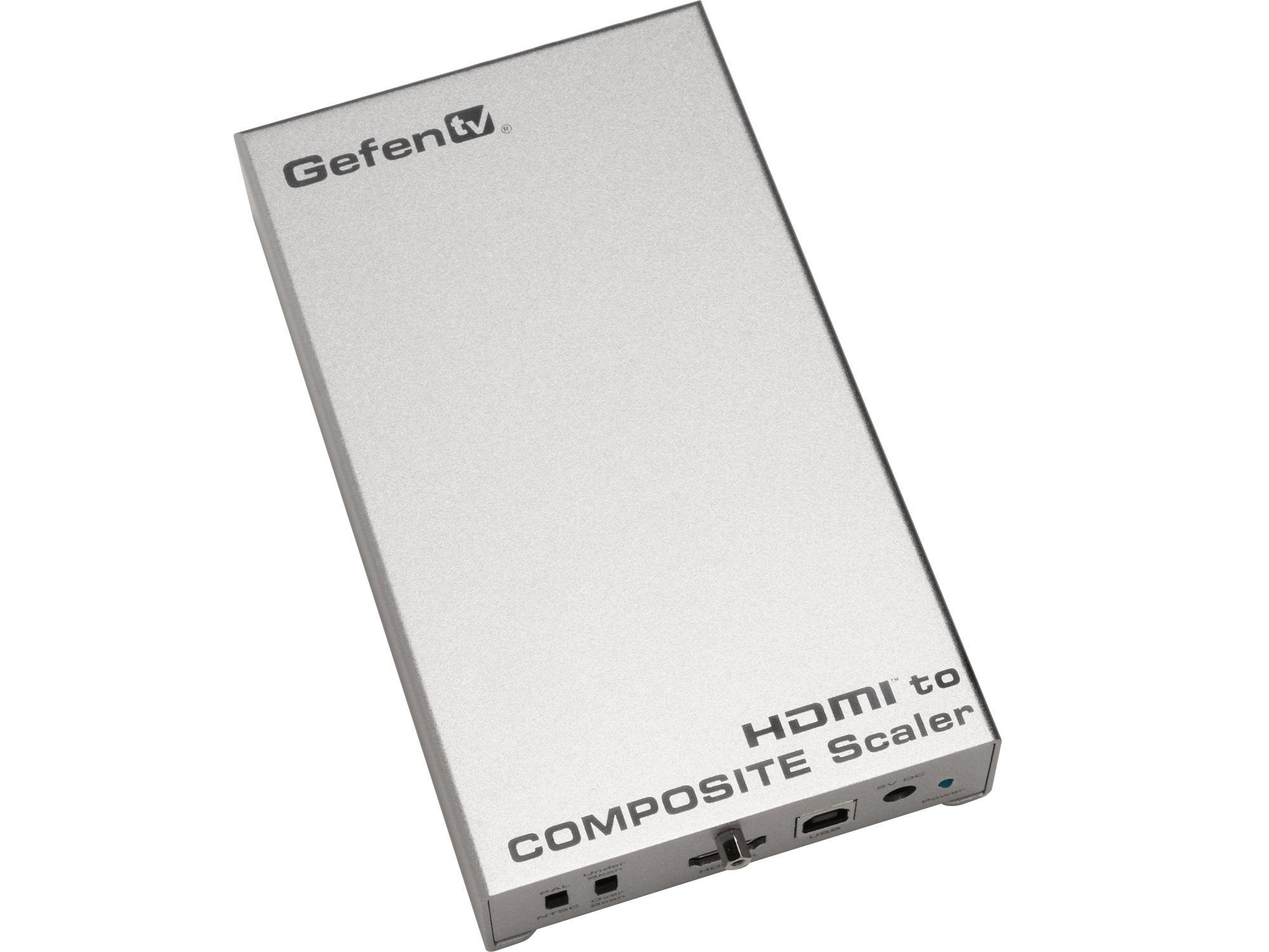 GTV-HDMI-2-COMPSVIDSN HDMI to Composite / S-Video Scaler by Gefen