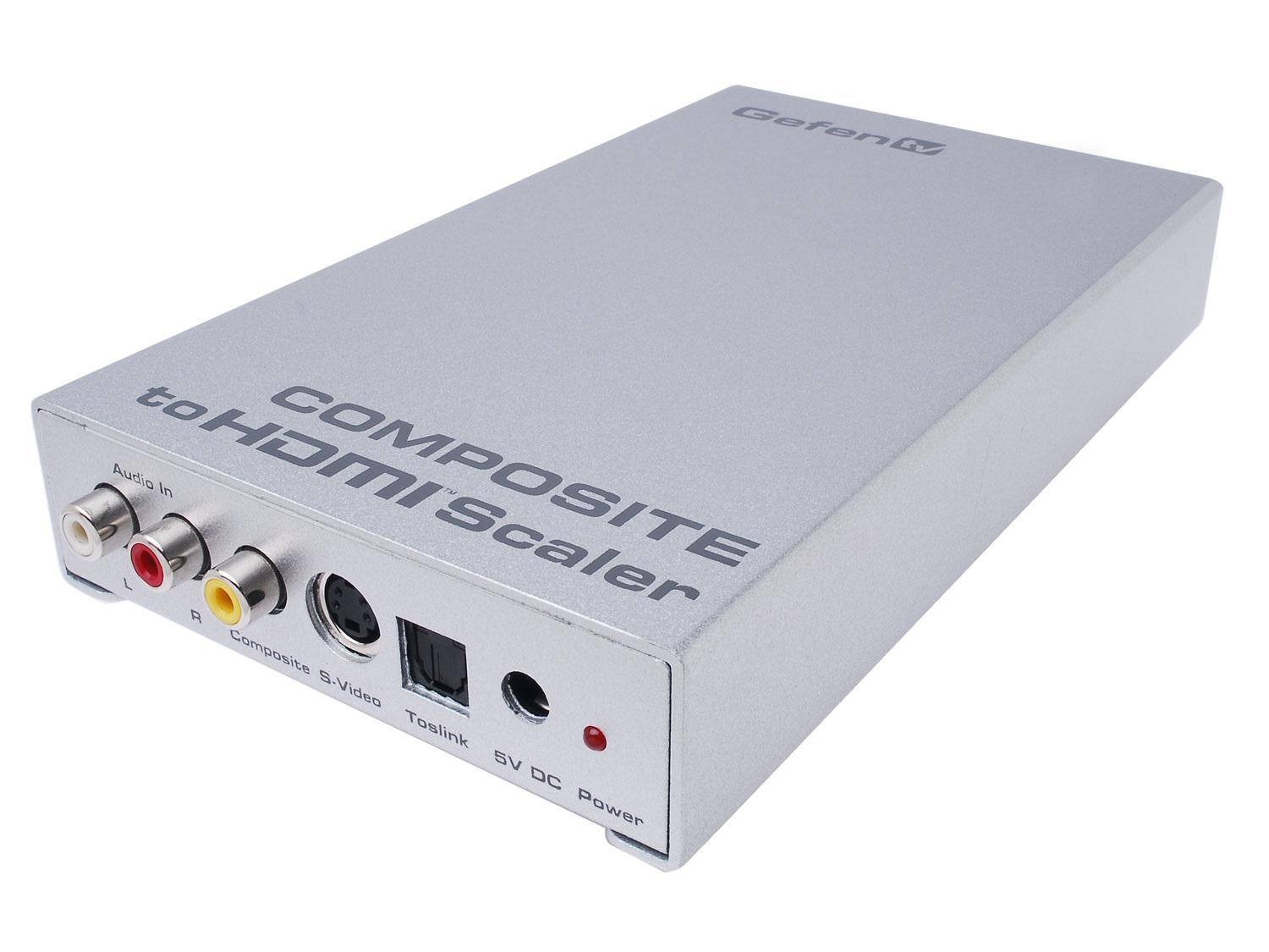 GTV-COMPSVID-2-HDMIS Composite Video to HDMI Scaler/Pre-Order by Gefen