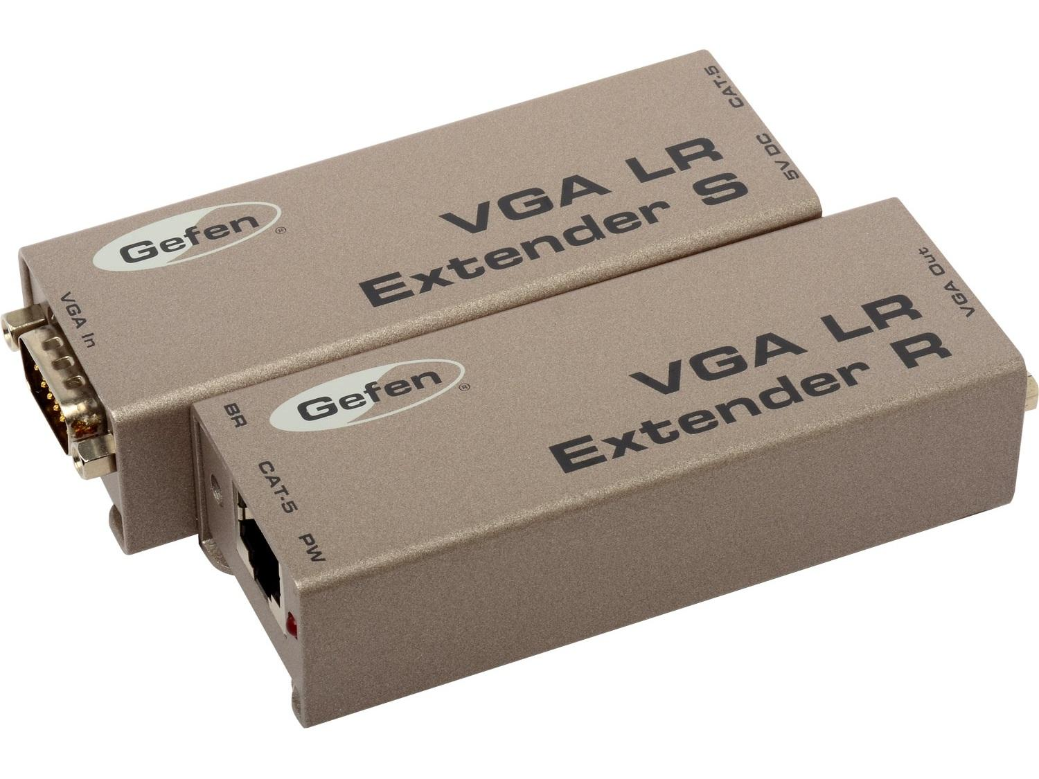EXT-VGA-141LR VGA/Component Video Extender(Receiver/Sender) Kit  Up to 330ft by Gefen
