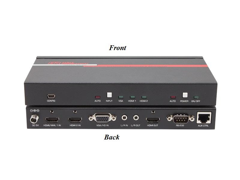 SC-3H Multi-Format Presentation Switcher and Controller by Hall Research
