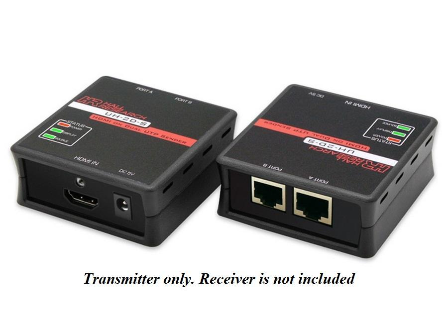 UH-2D-S HDMI over Dual UTP Extender (Sender) by Hall Research