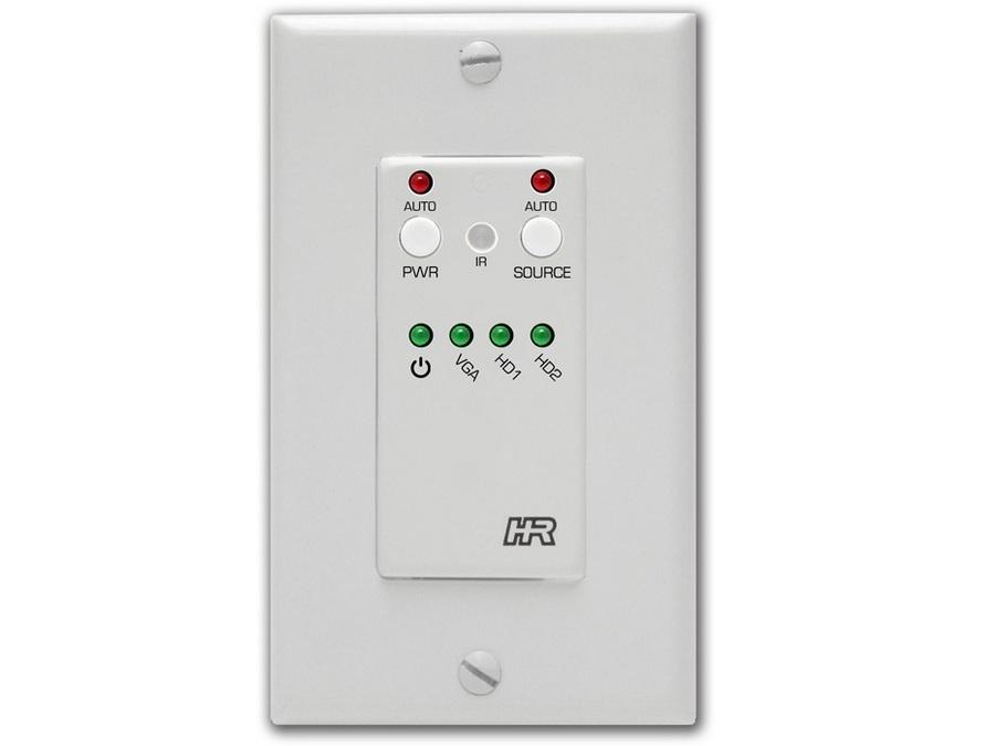 SW3-UI Auxillary Keypad Wall Plate Controller by Hall Research