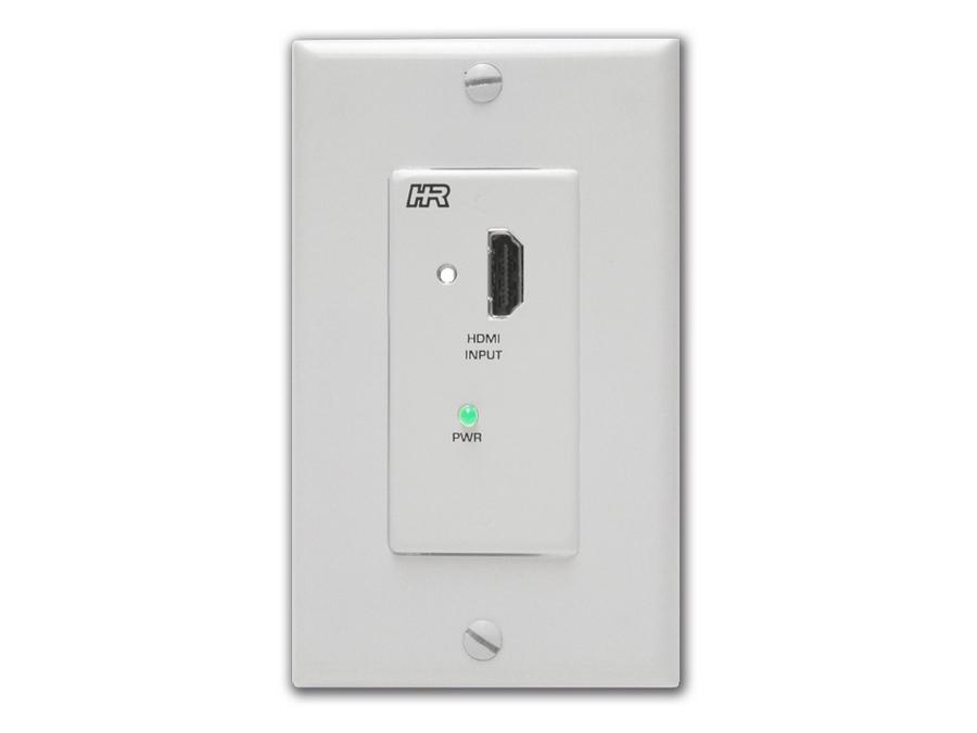 UH-2D-S-DP HDMI over dual CAT6 Decora Wallplate Extender (Sender) by Hall Research