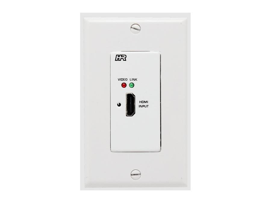 UHBX-S-WP HDMI/RS232/IR/PoH UTP HDBaseT Extender (Wall Plate Sender) by Hall Research