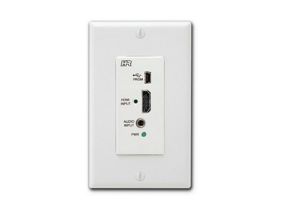 VSA-HA-DP HDMI input WallPlate for VSA Series with/Audio by Hall Research