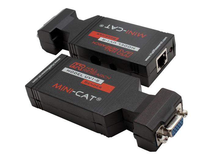 UV1 Video over UTP Extender (Receiver/Sender) Kit by Hall Research