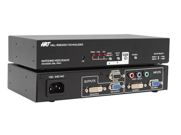 SC-1080D Multi-format PC/HD Video Scaler by Hall Research