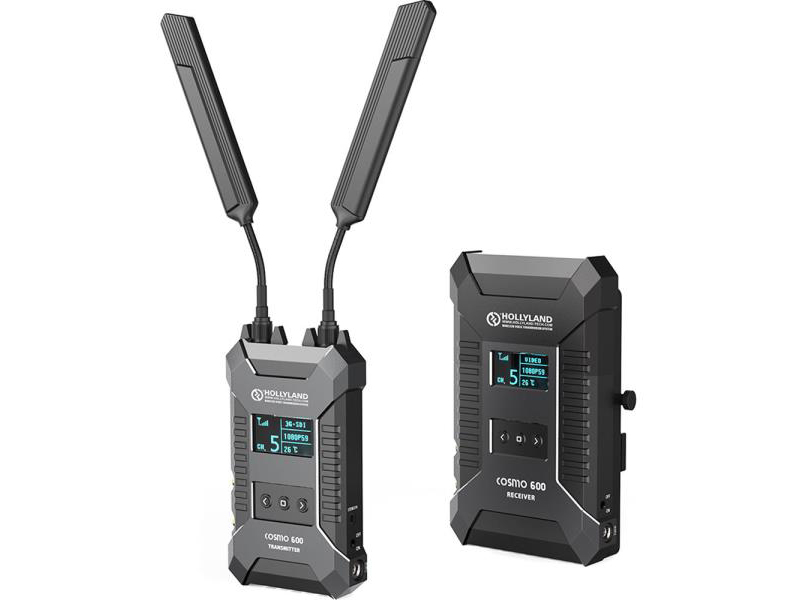 HL-Cosmo-600-L-SERIES Wireless HDMI/SDI Transmission (Transmitter/Receiver) System (L-Series) - 600ft by Hollyland