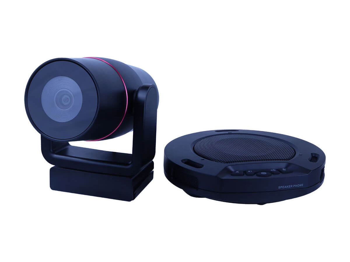 HC-HUDDLEPAIR Wireless USB Speakerphone and Wide-Angle Webcam Combo by HuddleCamHD