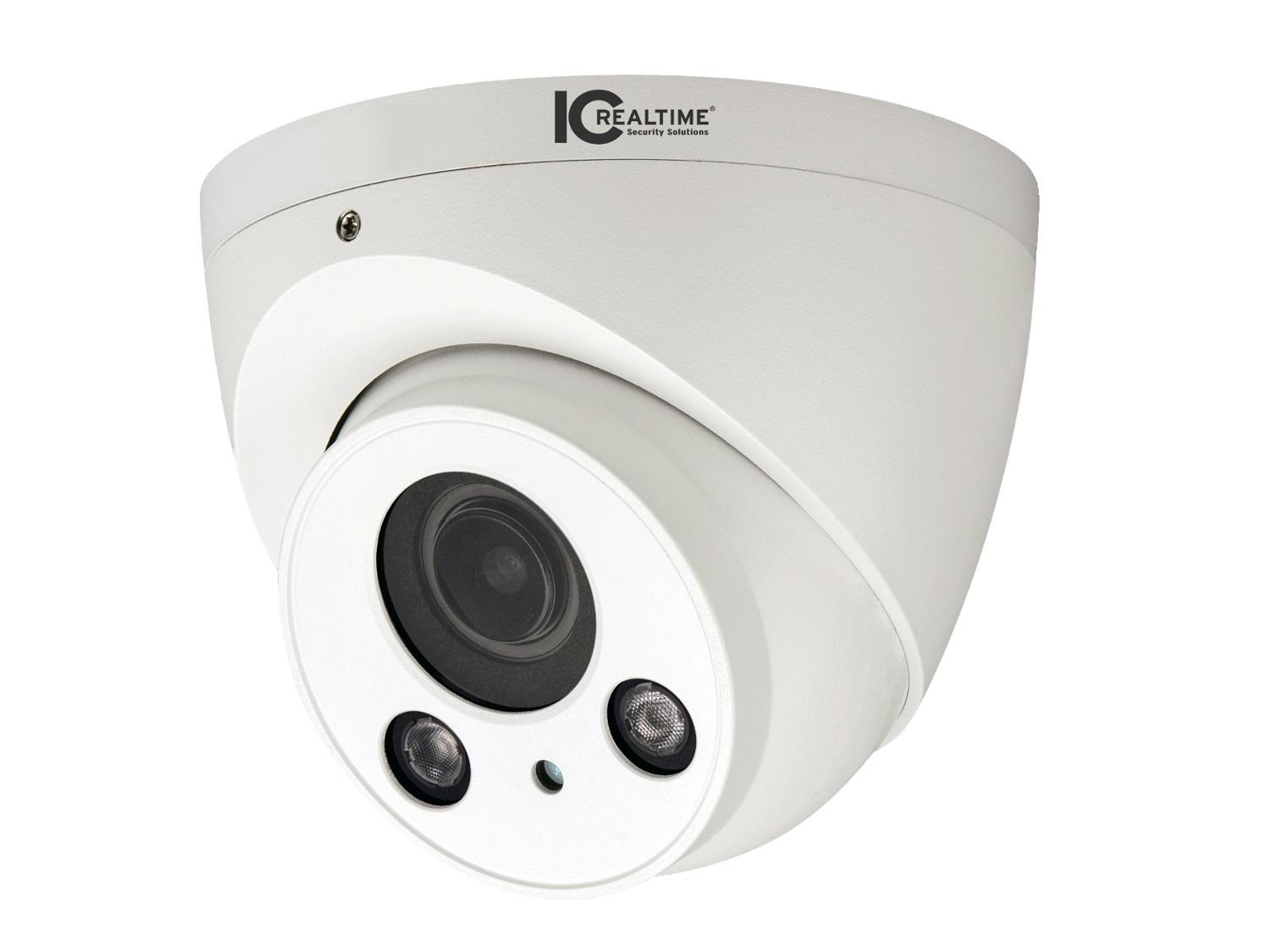 AVS-4MD5123-VIR-DP 4MP Water Proof Mini Dome HD-AVS Camera with 180ft of Smart IR/2.7-12mm Lens/IP67/12VDC/24VAC by ICRealtime