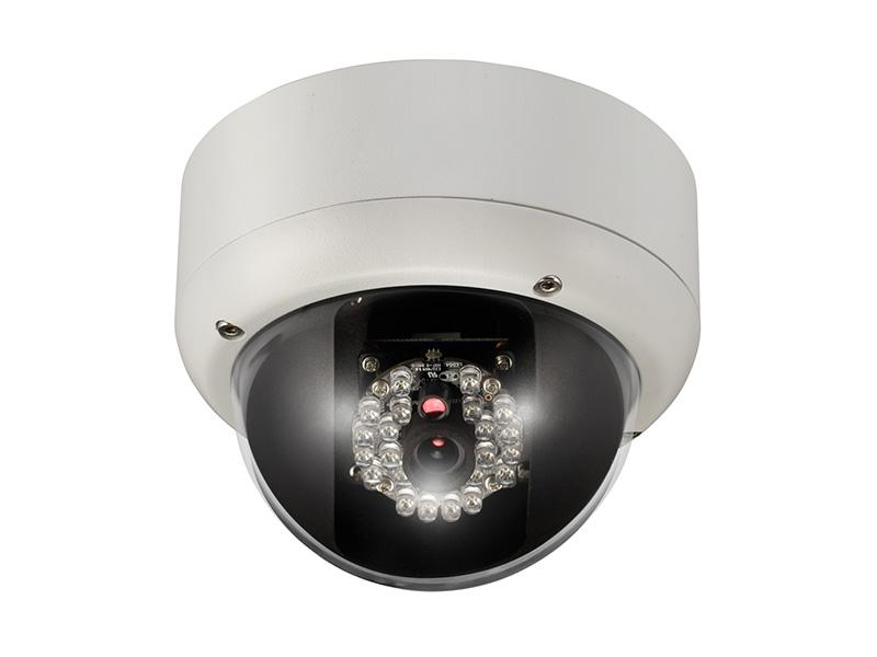 ICIP-D565IR Indoor/Outdoor D1 Resolution Vandalproof Full-Size IR Network Dome Camera by ICRealtime