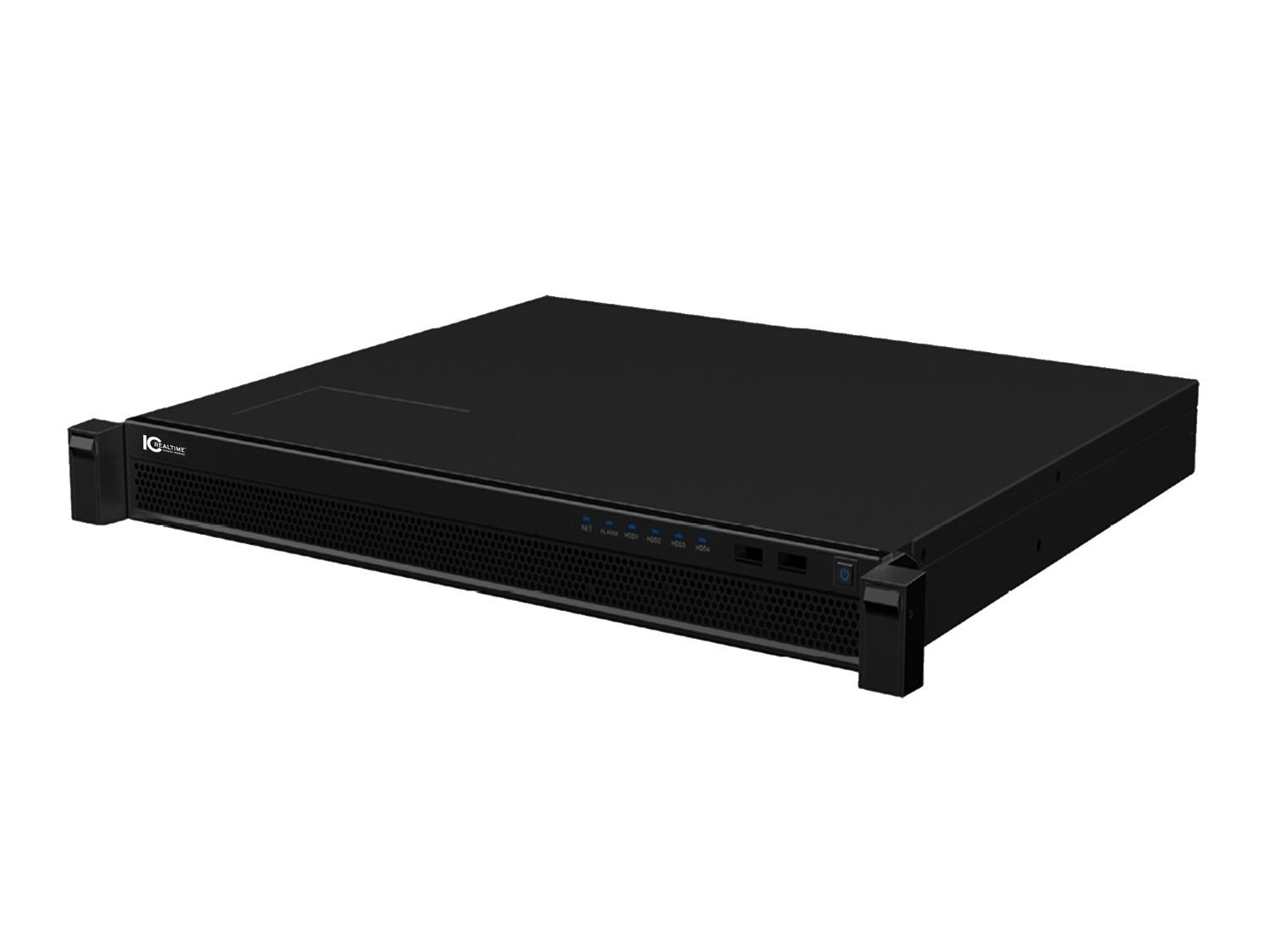 ICM-7100SE 1U Rackmount/Dedicated Enterprise Video Management System Applicance/1TB Included by ICRealtime