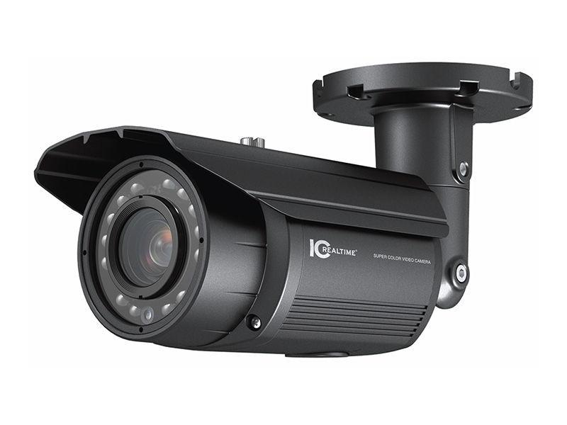 EL-2000B IN/OUTDOOR Day/Night 690HTVL WideLux WDR IR Bullet Camera by ICRealtime