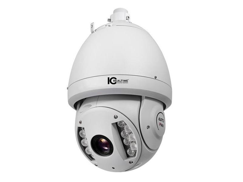 ICIP-30001HD-IR 2 MP Indoor/Outdoor 30X Zoom IR Network PTZ Camera by ICRealtime