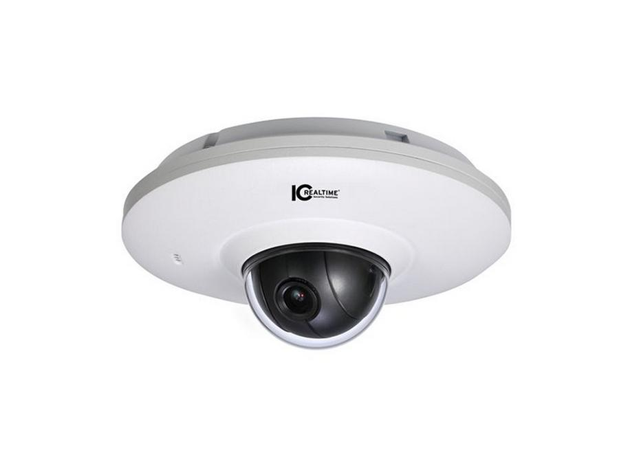 ICIP-D2077P 2 Mp Out Dome Pan/Tilt Ip Camera 3.6Mm Fixed Lens W Mic by ICRealtime