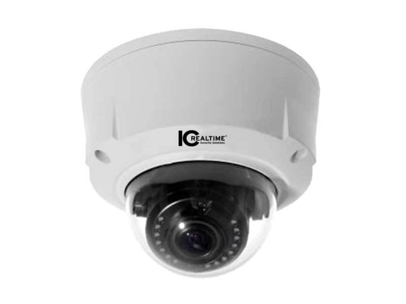 ICIP-D5000VIR 5MP In/Out Vandalproof IR Network Dome Camera/Motorized by ICRealtime