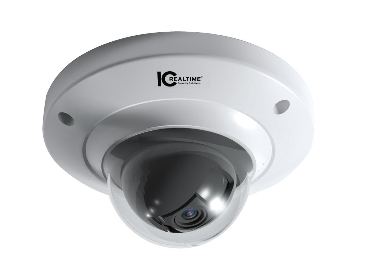 ICIP-DW202 2 MP Indoor Mini WiFi Network Dome Camera by ICRealtime