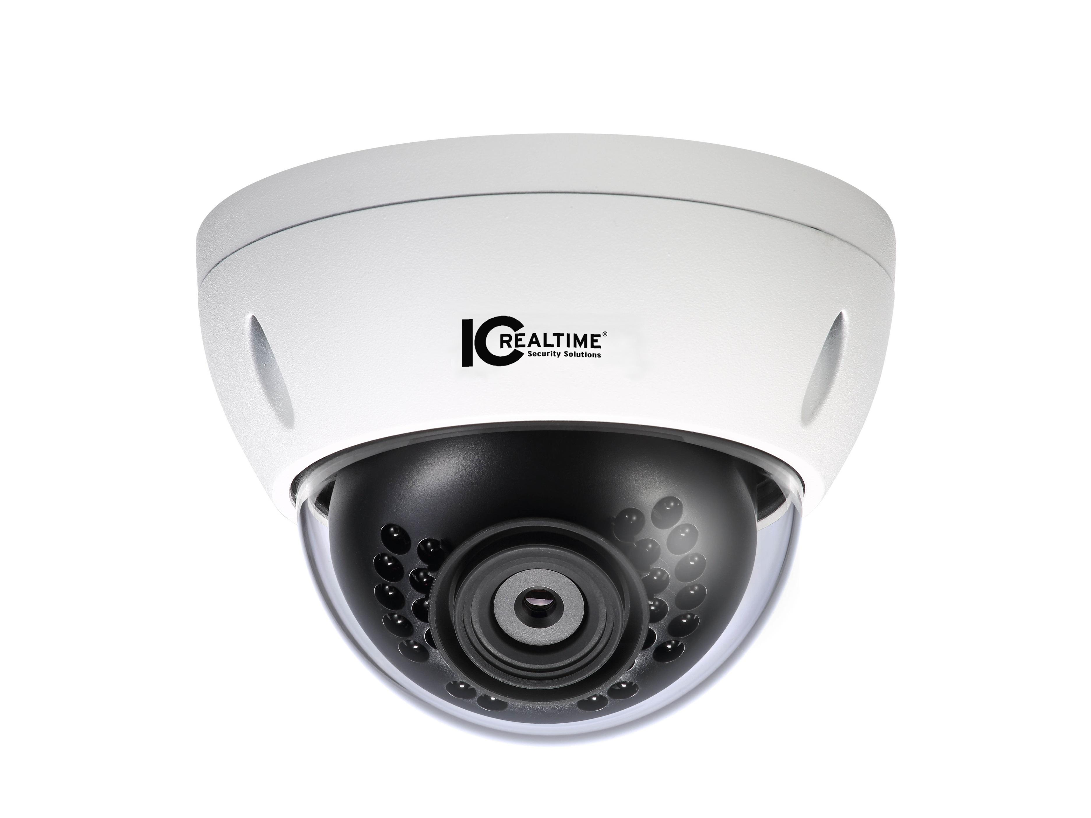 ICIP-DW212 2 MP Indoor/Outdoor Vandal Mini WiFi Network Dome Camera by ICRealtime