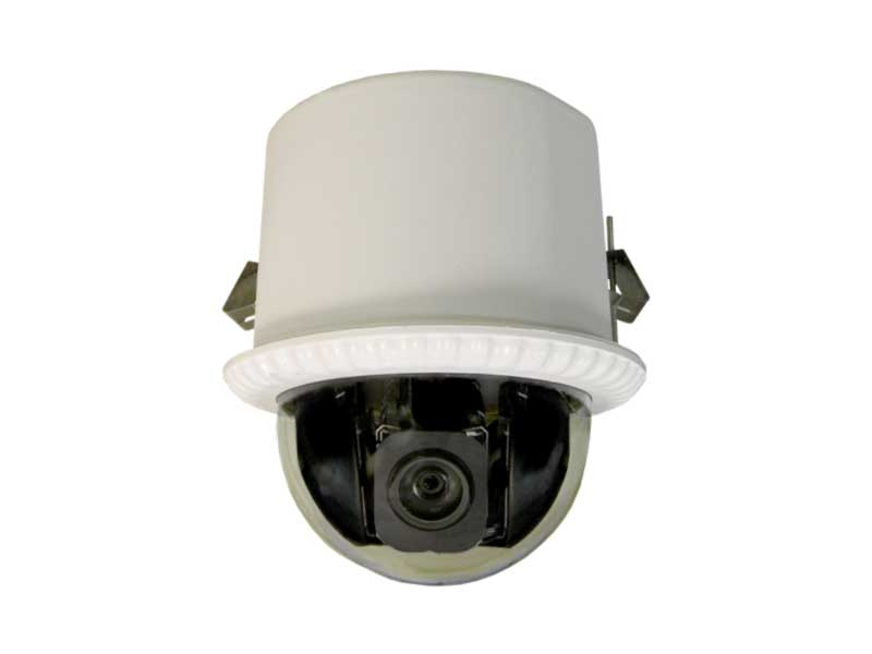 ICIP-MP1801-FM IN FLUSH MOUNT IP PTZ/1.3 MP/18X ZOOM/H.264E CAMERA by ICRealtime