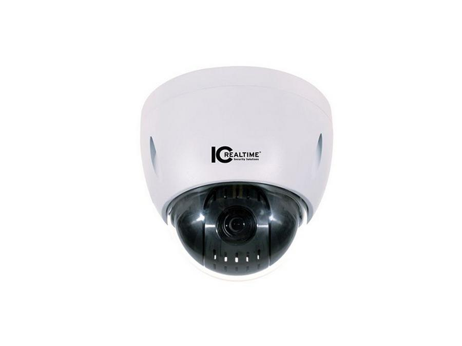 ICIP-P2012T I/O 2Mp/Full Hd 12X Opt/Net Ptz Surface Mount Dome Camera by ICRealtime