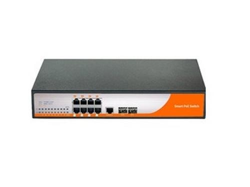 ICR-10G-8POE-Managed 8 PORT PoE SWITCHER W WEB INTERFACE MANAGEMENT by ICRealtime