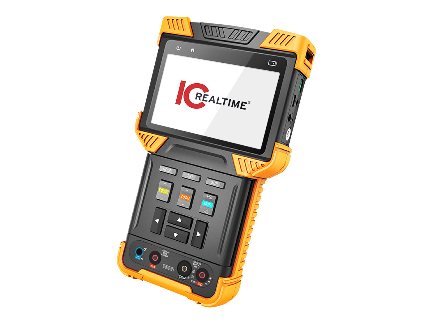 ITM-9000-V3 HD AVS/AHD/TVI/CVBS/IP Supported Multi-Function Test Tool With 4in Screen by ICRealtime