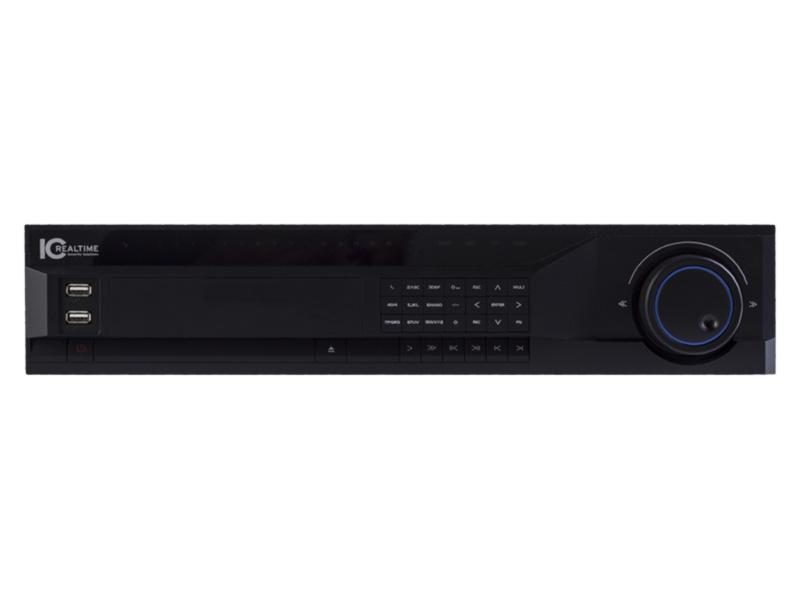AVS-1816 16CH 2U HD-AVS H.264E/HDMI DVR UPTO 720P w DVD BURNER by ICRealtime