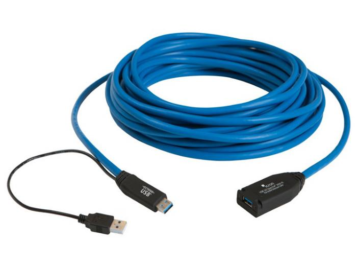 300115 USB 3.0 Spectra 1-Port Active Copper Extension Cable up to 15m by Icron