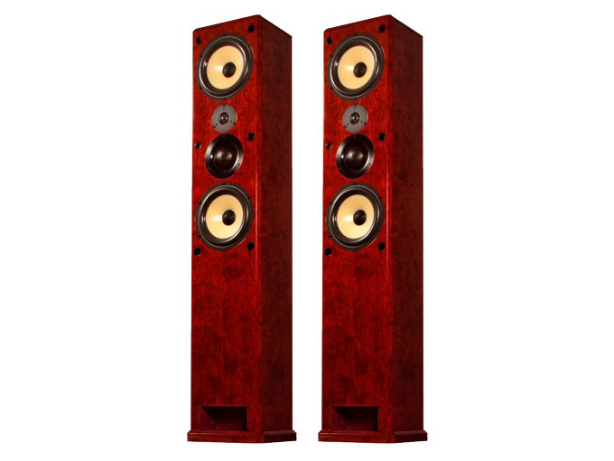 S1.8T Dual 8in 3-Way Freestanding Tower Speaker/36Hz - 20kHz/Pair by Induction Dynamics