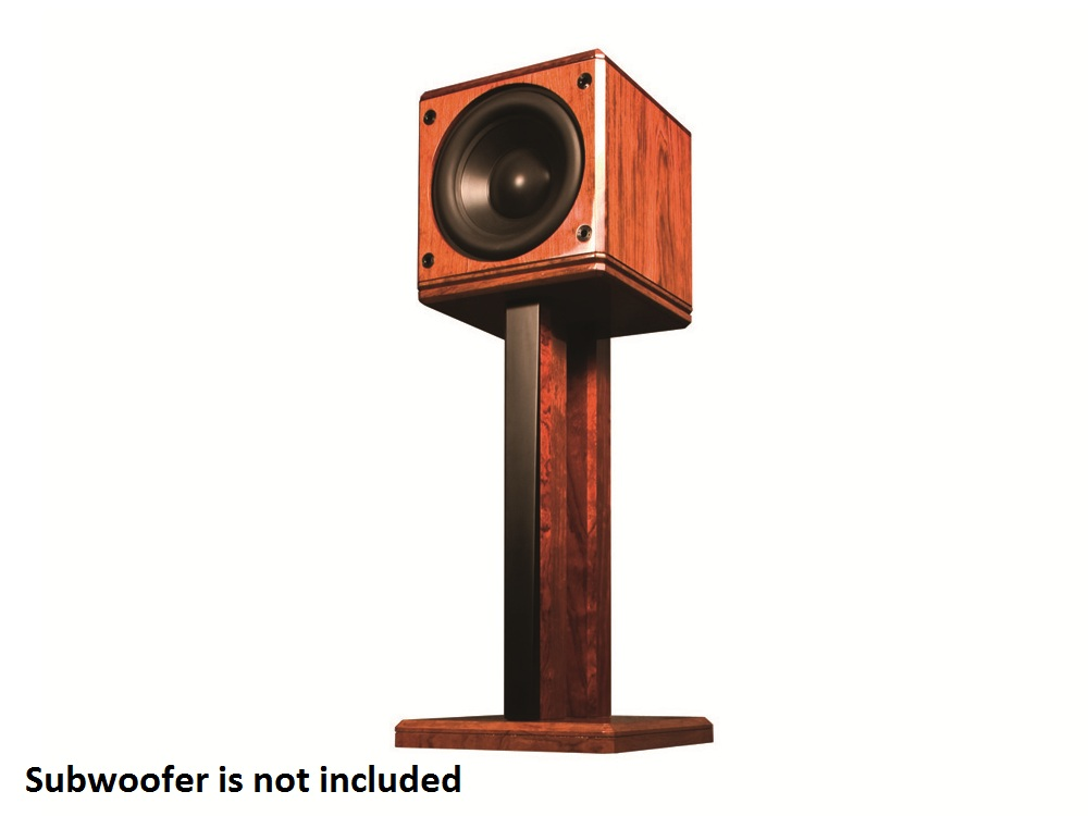 ST2 Stand Double-post stand for freestanding subwoofers by Induction Dynamics