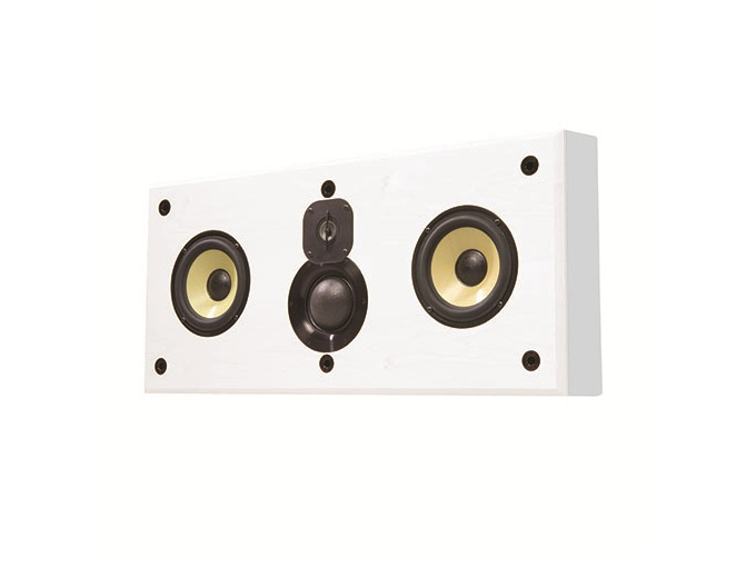 C1.w Dual 6.5in 3-Way On-Wall Center Speaker/70 Hz - 20 kHz by Induction Dynamics