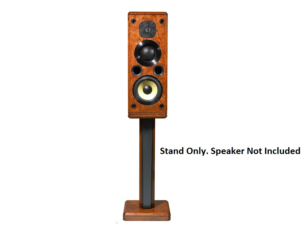 ST1 Stand Single-post stand for freestanding speakers by Induction Dynamics