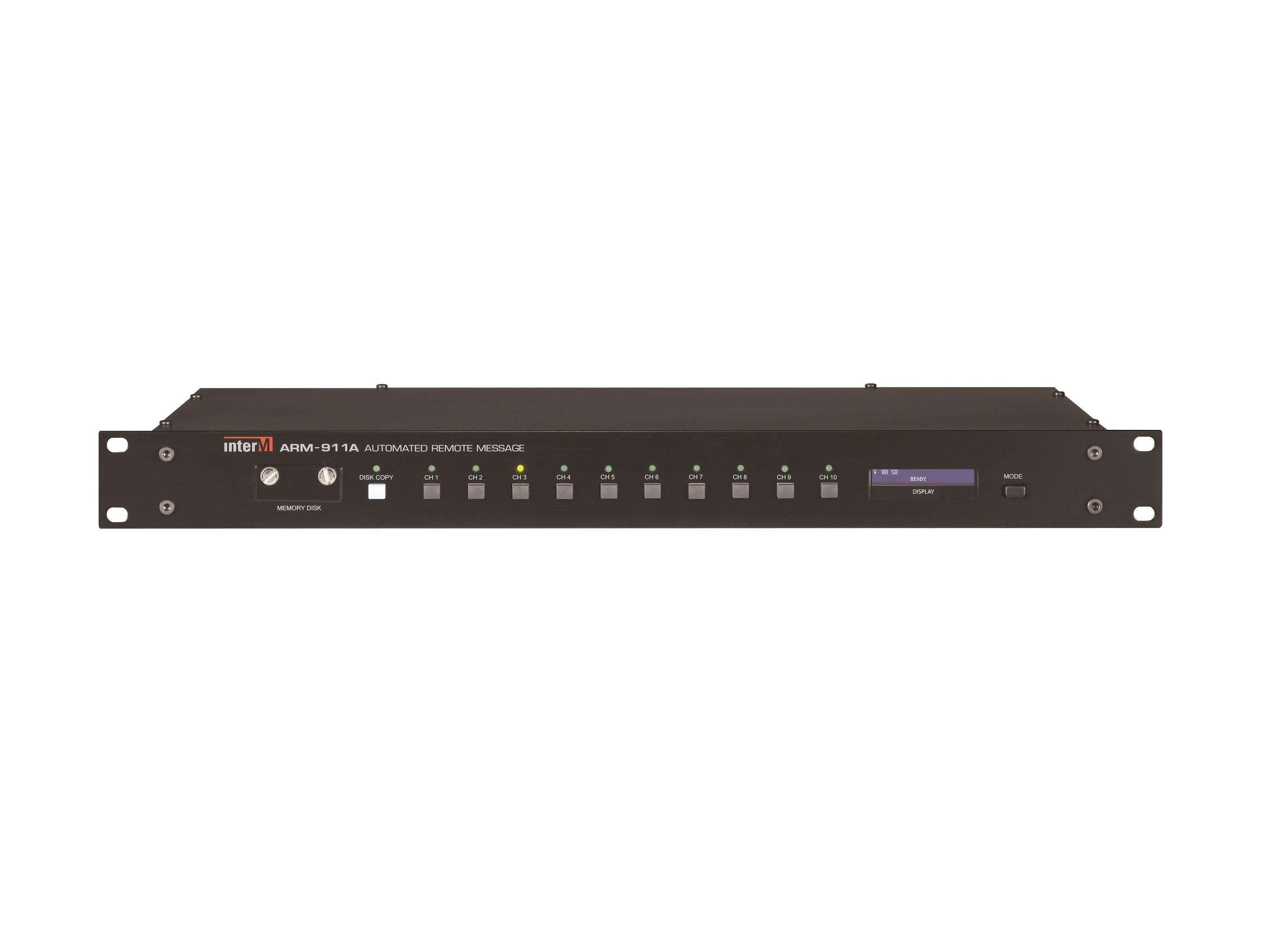 ARM-911A High Performance Highly Versatile Stand-Alone Automated Remote Messaging Controller by Inter-M