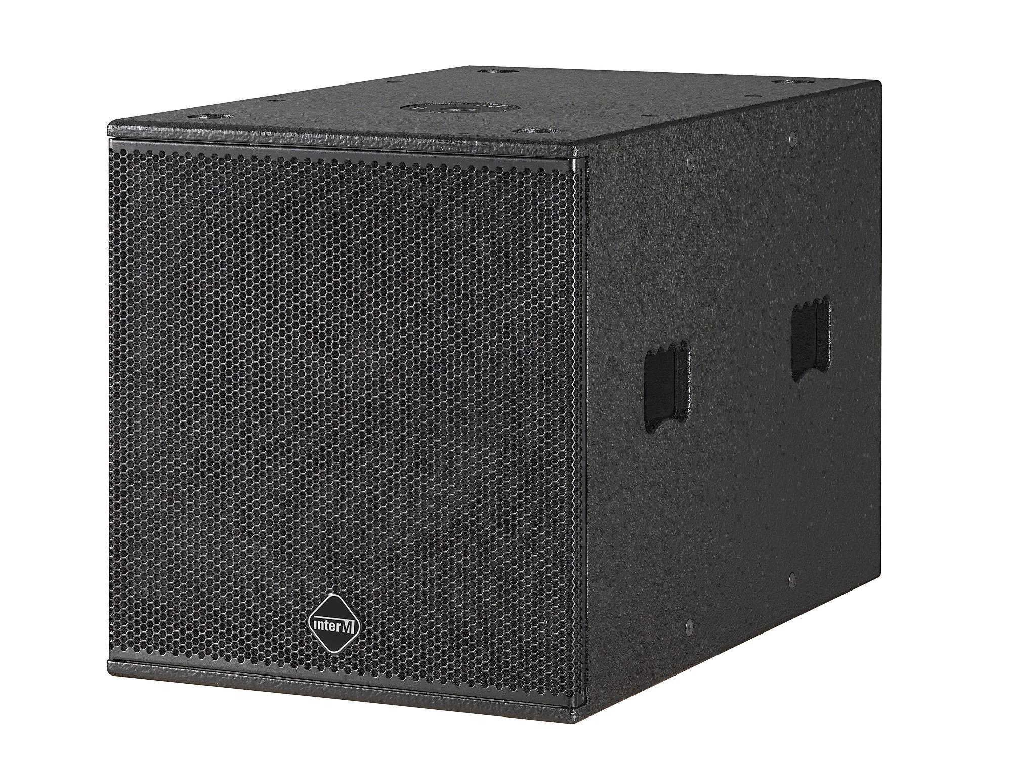 CSB-15K 15 inch 600W Continuous High Power Compact Subwoofer/39Hz-120Hz by Inter-M