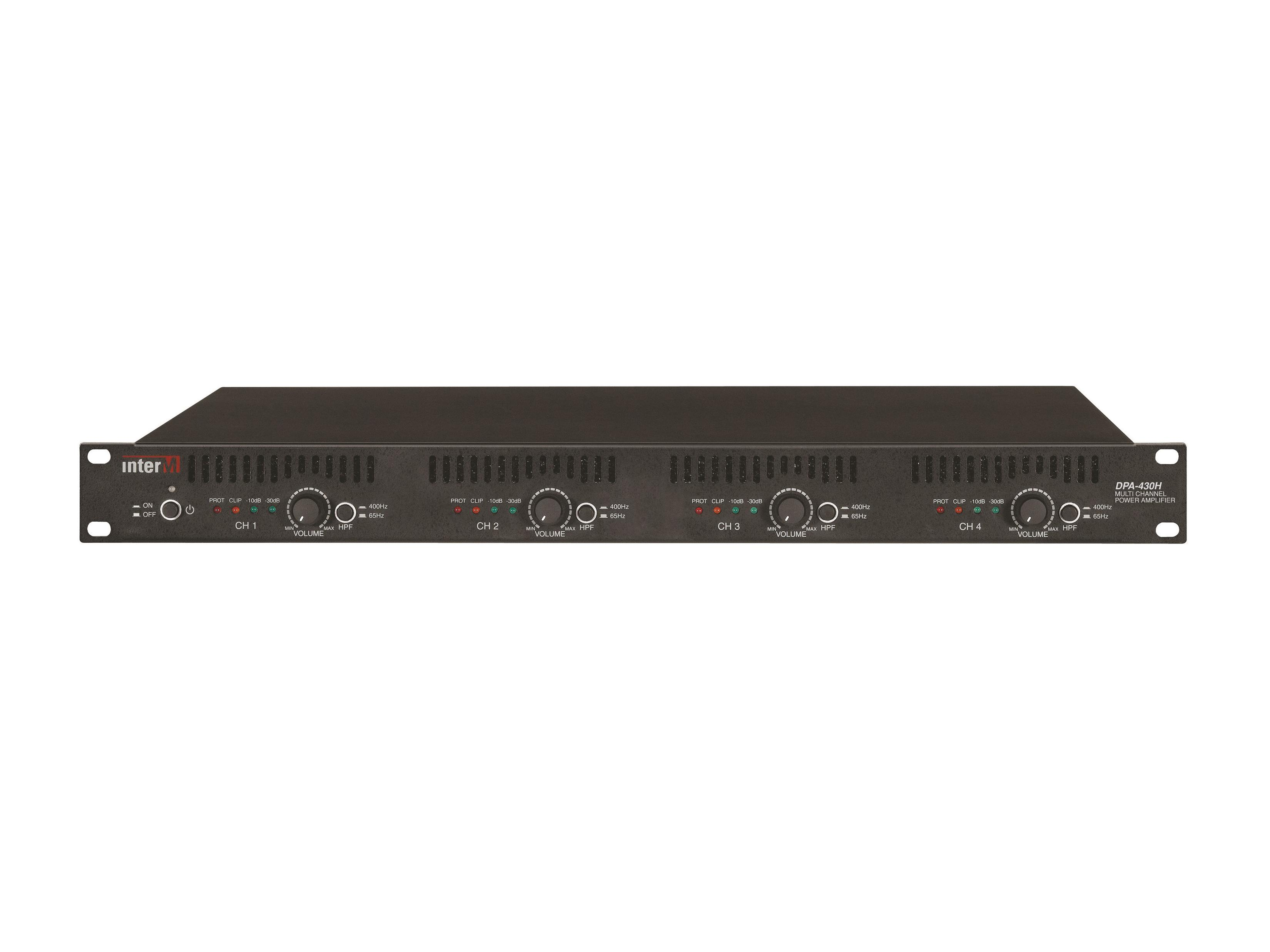 DPA-430H 300W Multi 4CH Power Amplifier by Inter-M