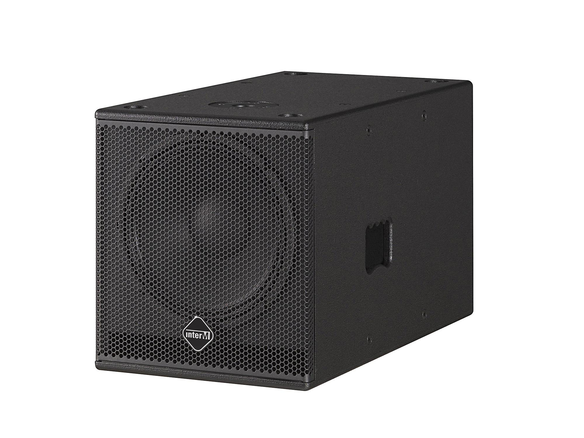 CSB-12K 12 inch 500W Continuous High Power Compact Subwoofer/45Hz-120Hz by Inter-M