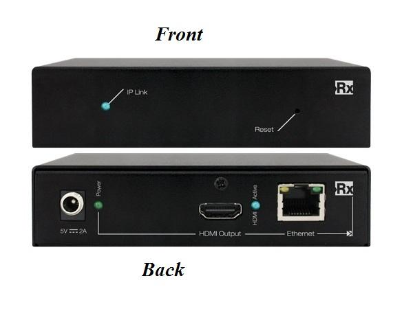 KD-IP120Rx HDMI over IP Extender (Receiver) by Key Digital