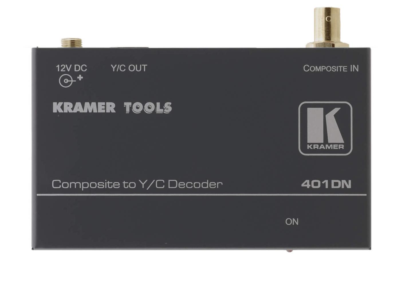 401DN/N Composite Video to S-Video Format Converter by Kramer