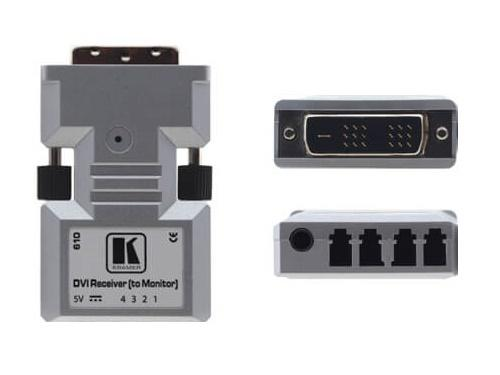 610R Dual-Link DVI over Optical Fiber Extender (Receiver) (1312ft) by Kramer