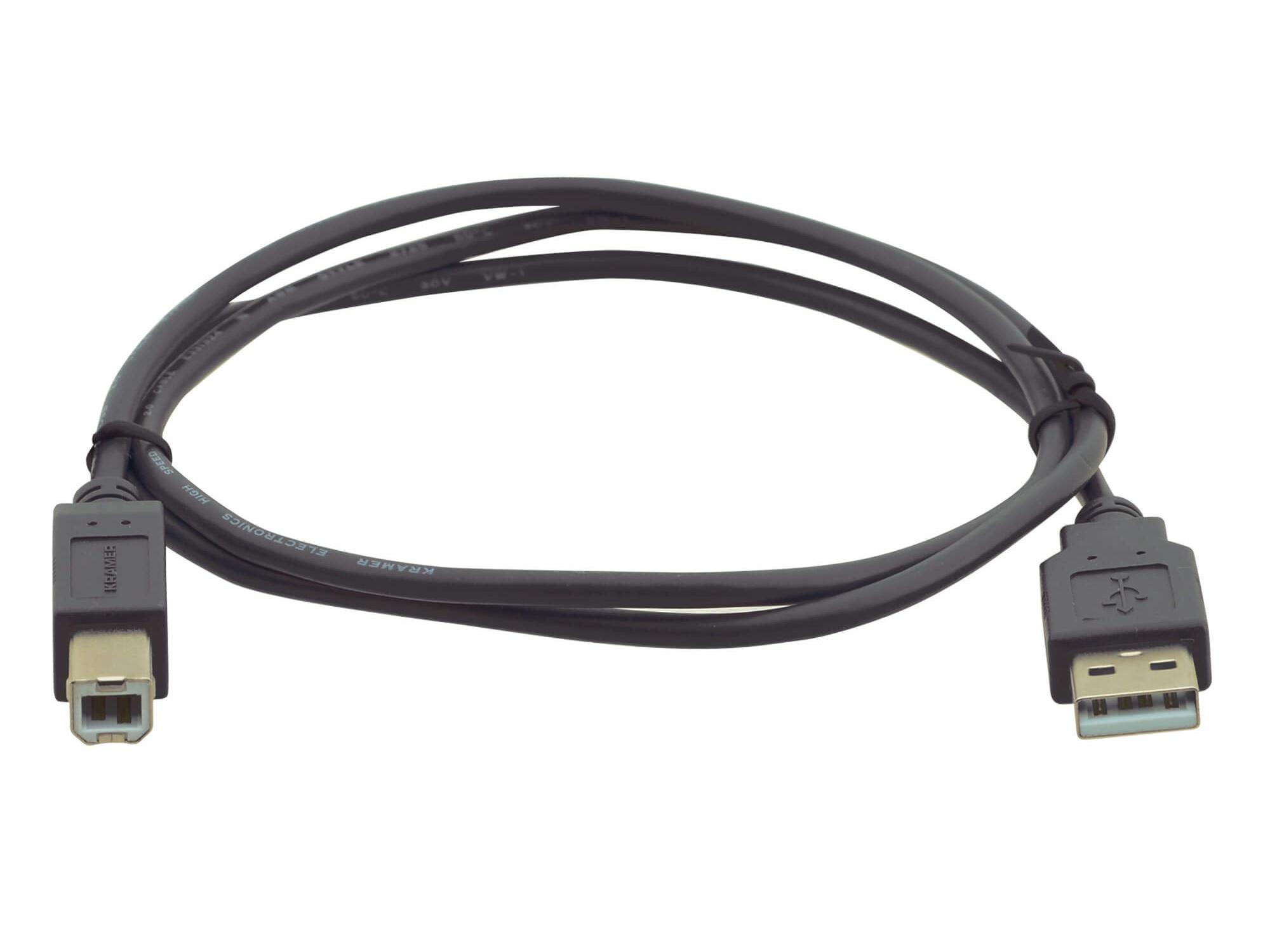 C-USB/AB-3 USB 2.0 Type A to Type B Printer Cable - 3ft by Kramer
