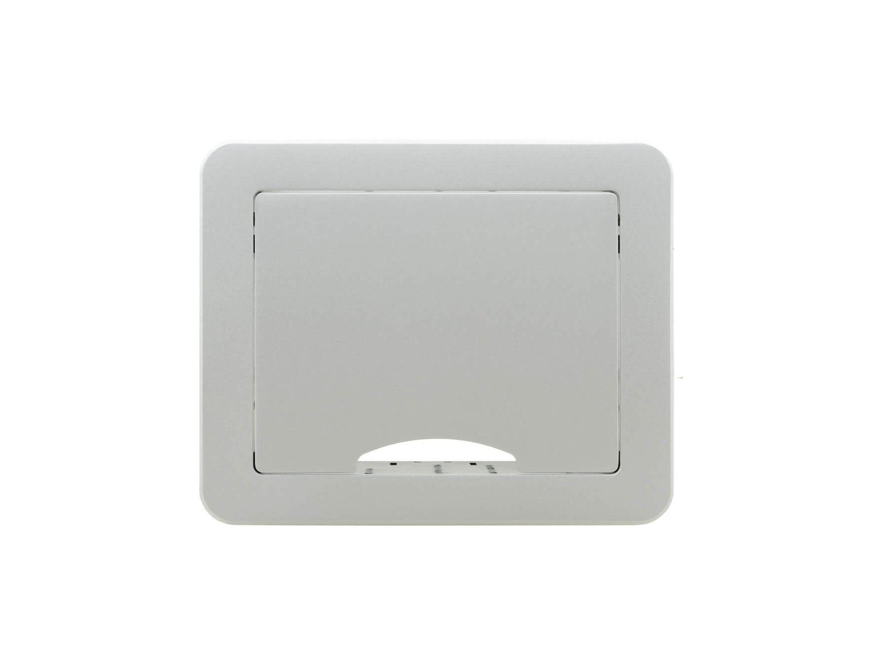 TBUS-1N(BC) Table Mount Modular Multi-Connection Solution/Retractable Lid/Silver Sand Aluminum Top by Kramer