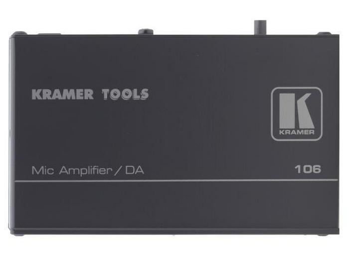106 1x2 Microphone Line and Distribution Amplifier by Kramer