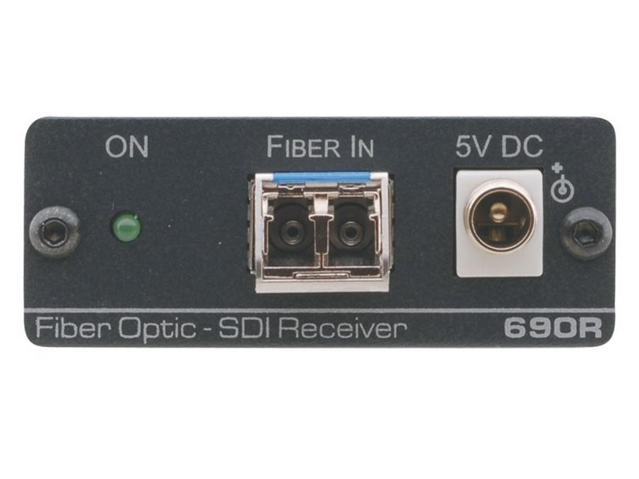 690R 2-Channel 3G HD-SDI Fiber Optic Extender Receiver by Kramer