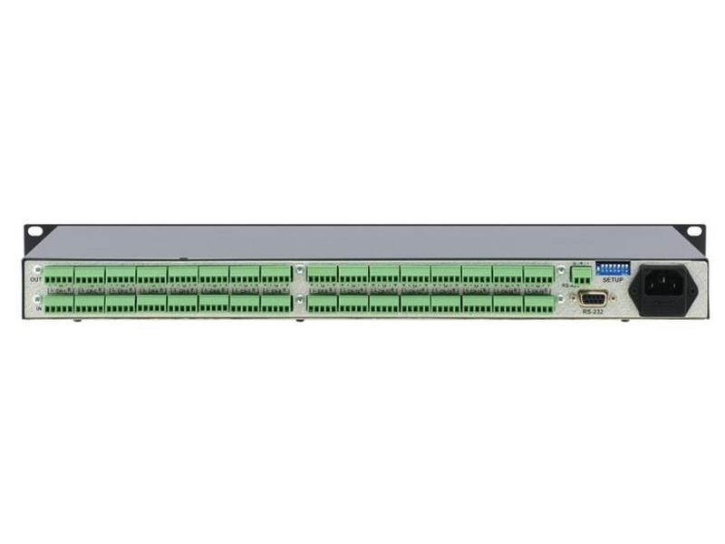 VA-8xl 8-Channel Balanced Stereo Volume Controller by Kramer
